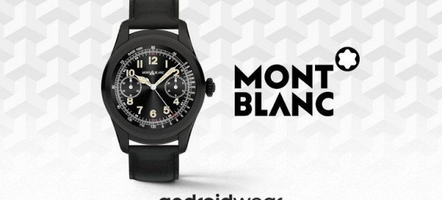Montblanc Summit anunţat oficial, este un nou smartwatch de lux cu Android Wear la bord (Video)