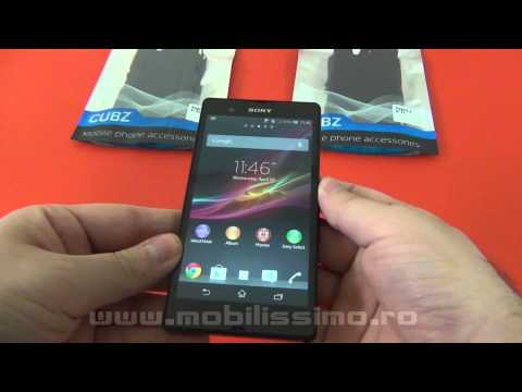 Huse si Carcase Sony Xperia Z Review: Cubz, Nillkin - Mobilissimo.ro