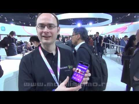 Sony Xperia Z2 Hands-On Video Preview MWC 2014 - Mobilissimo.ro