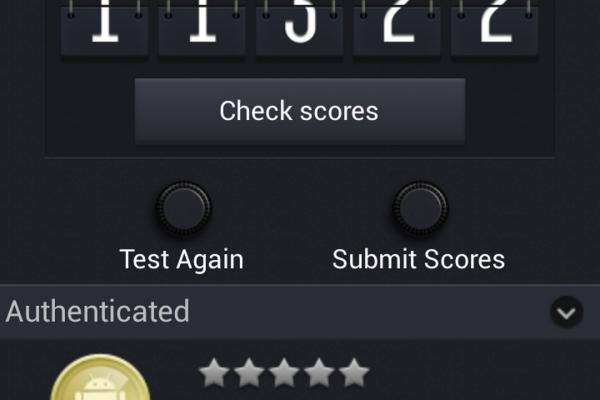 HTC One mini - Benchmark-uri