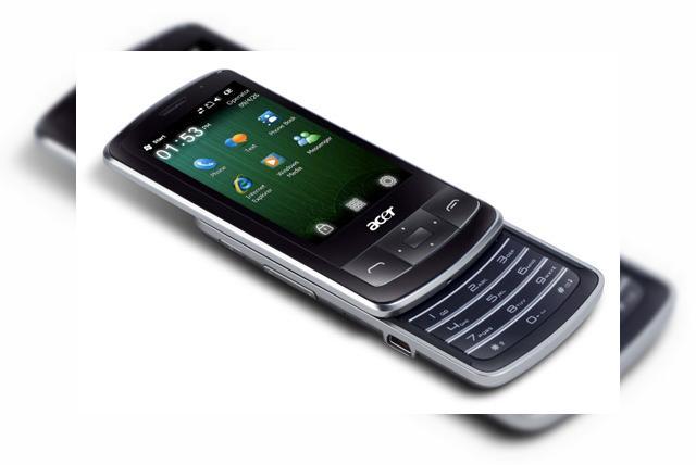 windows mobile 6.5 pour acer e101