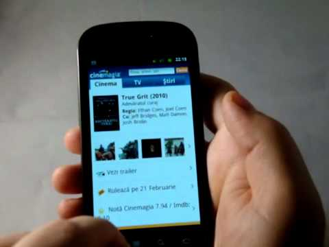 Recenzie Cinemagia, Orange Film si La Cinema pe Samsung Nexus S (Android 2.3)