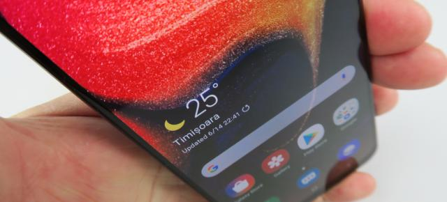 Samsung Galaxy A50: Conectivitate de midrange, care ar şade bine şi pe un high-end