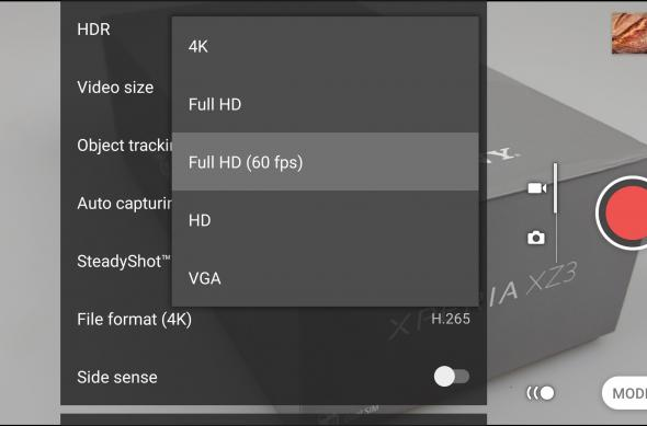 Interfață grafică cameră Sony Xperia XZ3 (capturi de ecran): Screenshot_20181016-203021.jpg