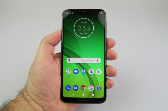 Luminozitate display Motorola Moto G7 Power: Motorola-Moto-G7-Power_074.JPG