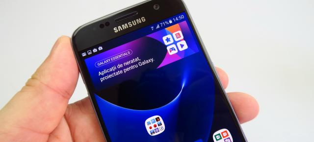 Samsung Galaxy S7: Display excelent... iar