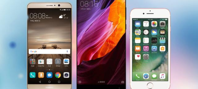"Top 10 smartphone-uri high-end populare pe Mobilissimo în ""luna Black Friday"" 2016!"