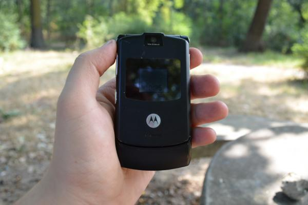 Motorola RAZR V3 - Fotografii Hands-On