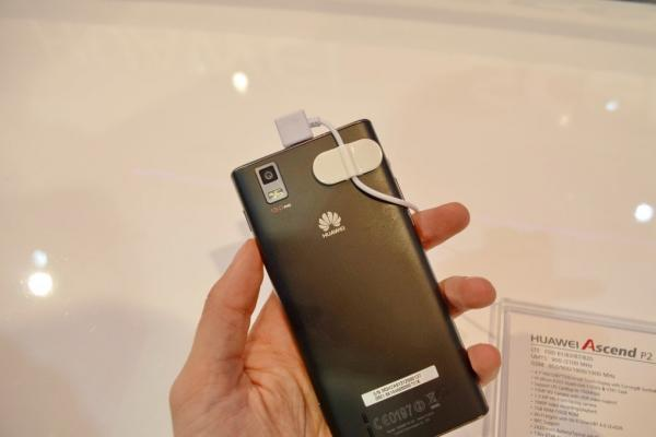 MWC 2013: Huawei Ascend P2 hands on preview În Barcelona (Video)