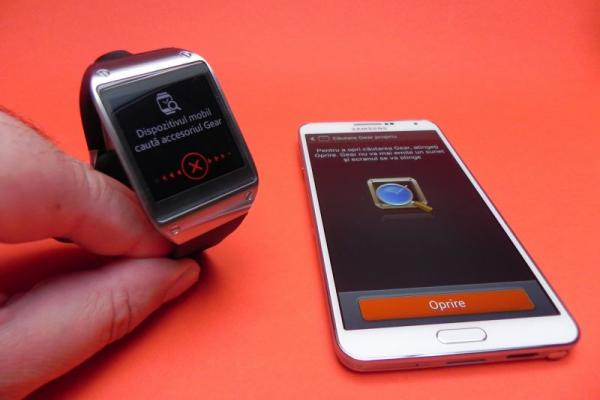 Tutorial: conectarea lui Samsung Galaxy Gear cu Samsung Galaxy Note 3 (Video)