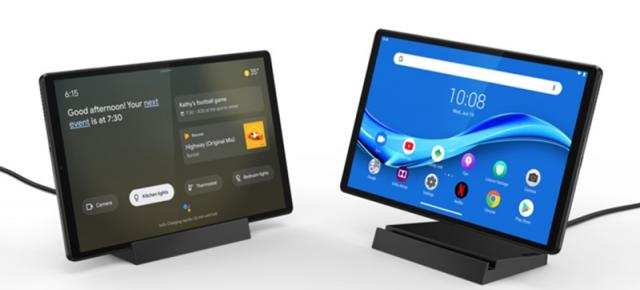 CES 2020: Lenovo prezintă tableta Smart Tab M10 FHD Plus cu rol Smart Display Google Assistant