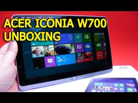 Acer Iconia W700 Unboxing (Tableta Windows 8 Pro cu Intel Core i5) - Mobilissimo.ro