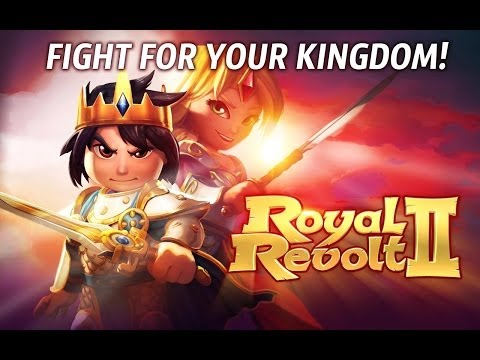 Royal Revolt 2 Review & Gameplay (Joc Android pe HTC One M8) - Mobilissimo.ro