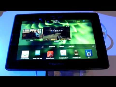 BlackBerry PlayBook Hands-On - Mobilissimo TV