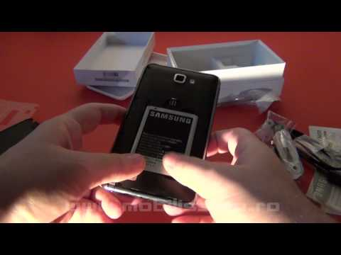 Samsung Galaxy Note unboxing - Mobilissimo TV