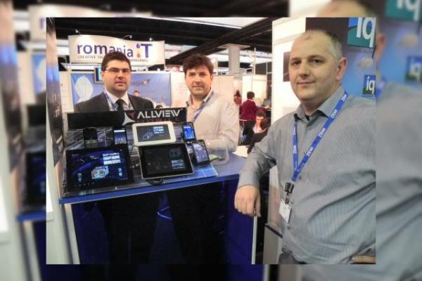 MWC 2012: Standul Allview și cum arată Android 4.0 pe tableta Allview (video)
