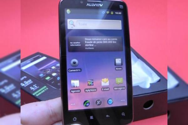 Allview P3 Alldro Unboxing - scoatem din cutie cel mai high end Allview! (video)