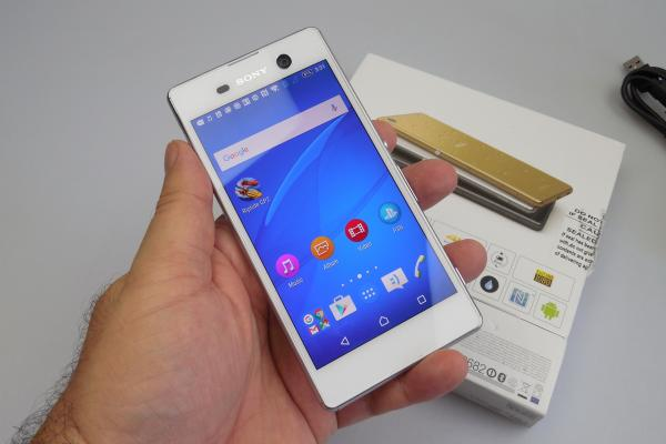 Sony Xperia M5 - Unboxing